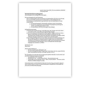 HDT Expertennetzwerk | Fachbeitrag: Euler, BETRSICHV 2015