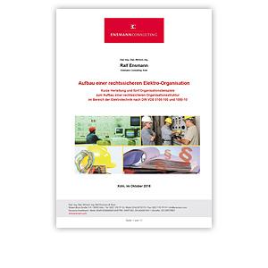 """HDT Expertennetzwerk // Fachwissen """"Aufbau einer rechtsicheren Elektro-Organisation"""