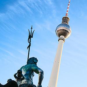 Das HDT Expertennetzwerk 2020 Abendevent findet im Berliner Fernsehturm statt